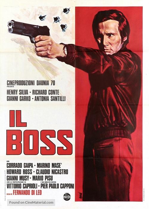 Il boss - Italian Movie Poster