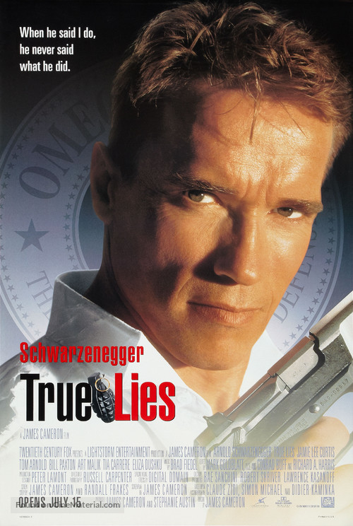 True Lies - Theatrical poster