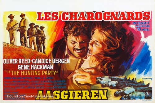 The Hunting Party - Belgian Movie Poster