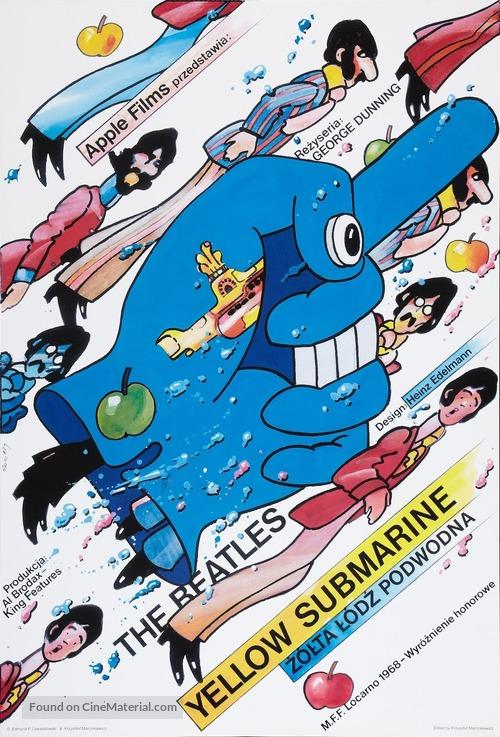 Yellow Submarine - Polish Movie Poster