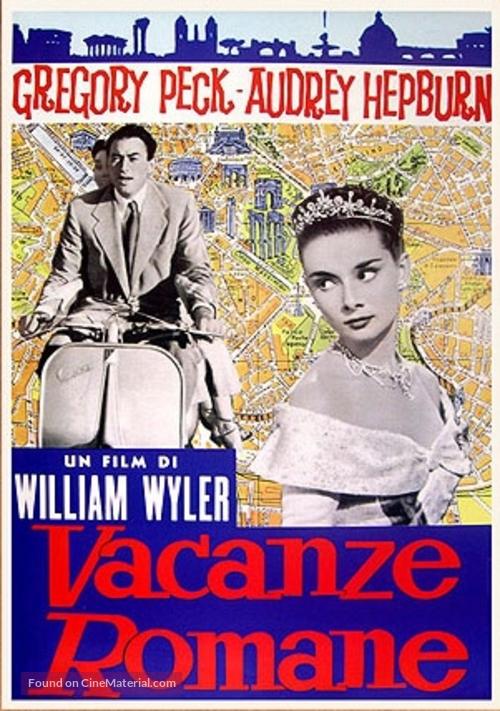 Roman Holiday - Italian Movie Poster
