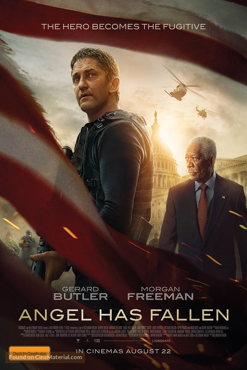 Angel Has Fallen - Australian Movie Poster