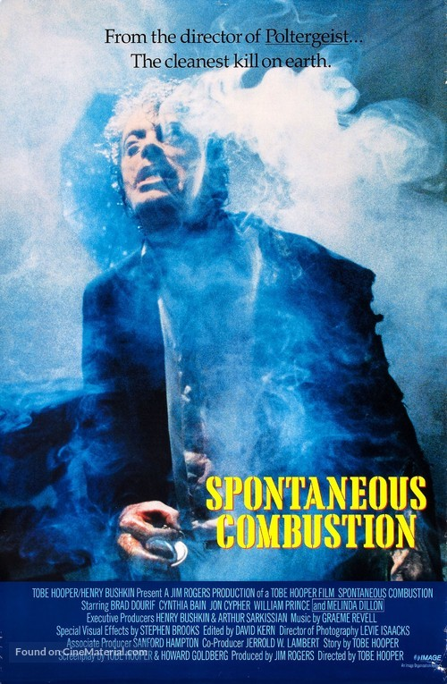 Spontaneous Combustion - Movie Poster