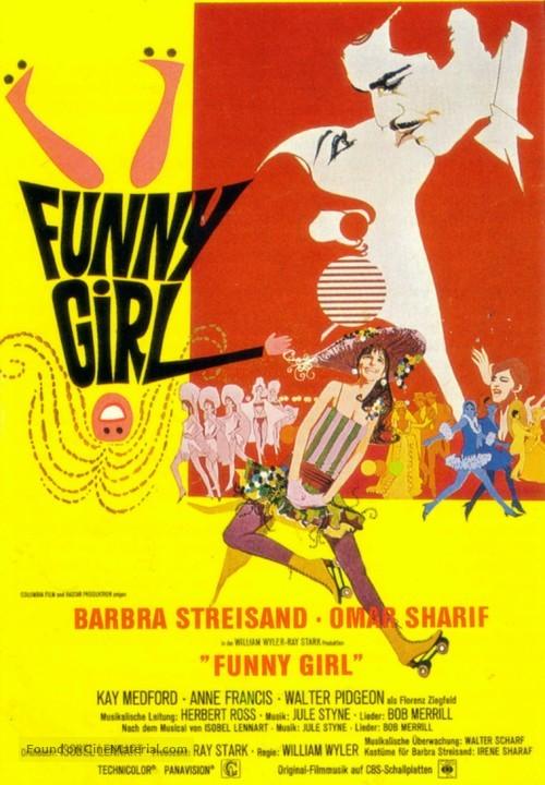 Funny Girl - German Movie Poster