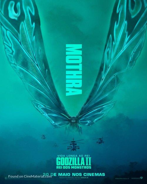 Godzilla: King of the Monsters - Brazilian Movie Poster