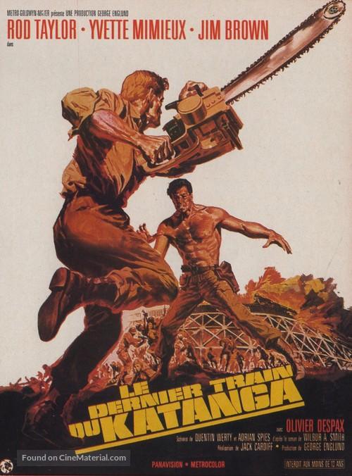The Mercenaries - French Movie Poster