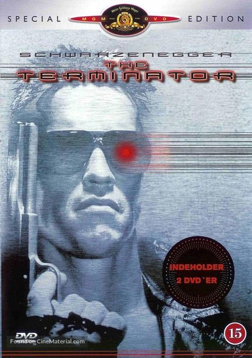 The Terminator - Danish Movie Cover