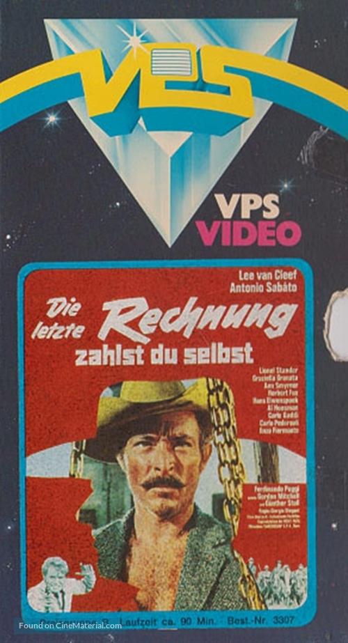 Al di là della legge - German VHS cover