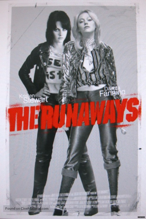 The Runaways - Movie Poster