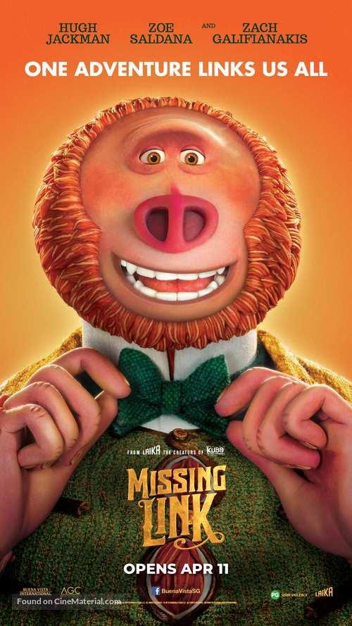 Missing Link - Singaporean Movie Poster