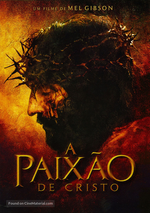 The Passion of the Christ - Portuguese Movie Poster