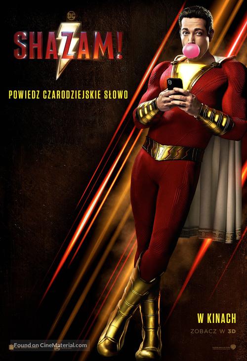 Shazam! - Polish Movie Poster