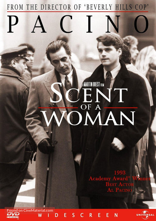 Scent Of A Woman Dvd Cover