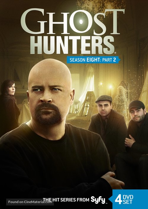 """Ghost Hunters"" - DVD cover"