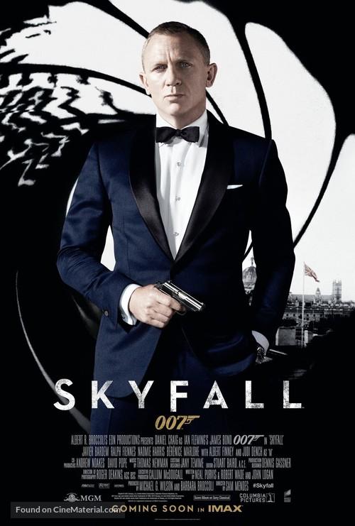 Skyfall - British Movie Poster