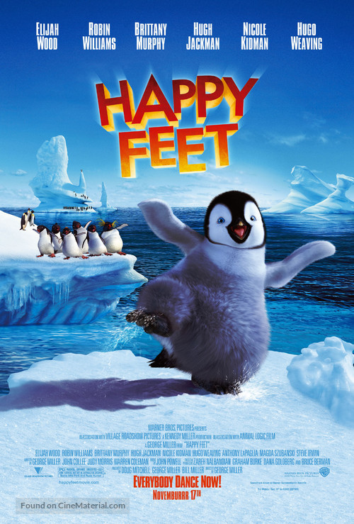 Happy Feet - Movie Poster
