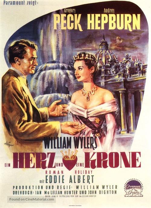 Roman Holiday - German Movie Poster