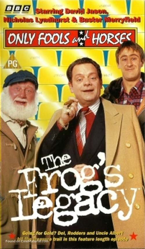 """""""Only Fools and Horses"""" - British VHS movie cover"""
