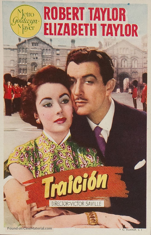 Conspirator - Spanish Movie Poster
