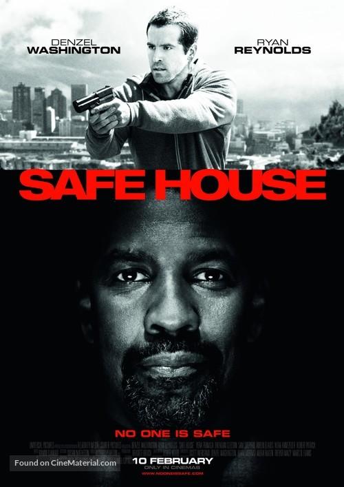 Safe House - British Movie Poster