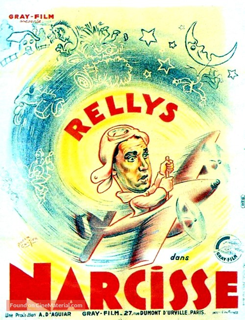 Narcisse - French Movie Poster