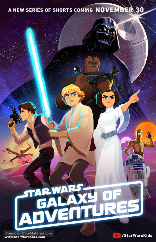 """Star Wars Galaxy of Adventures"" - Movie Poster"