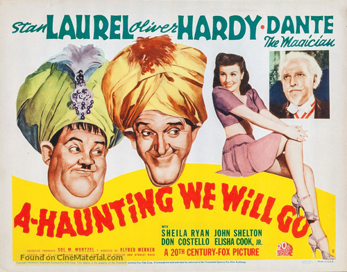 A-Haunting We Will Go - Movie Poster