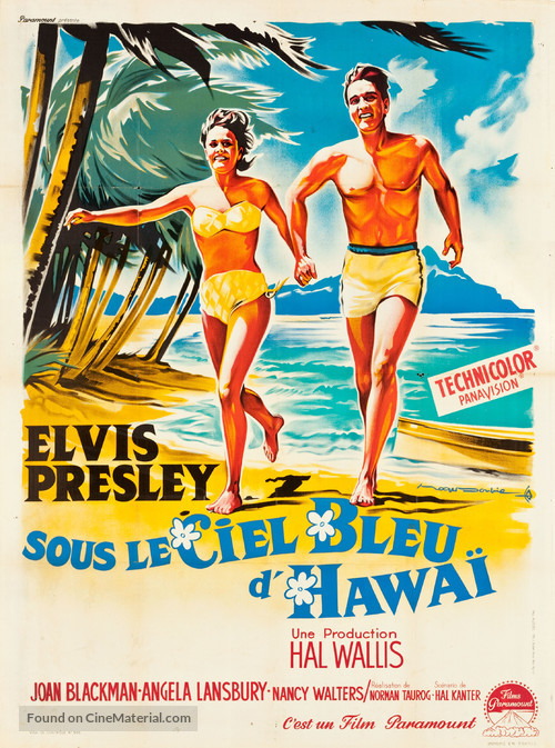 Blue Hawaii - French Movie Poster