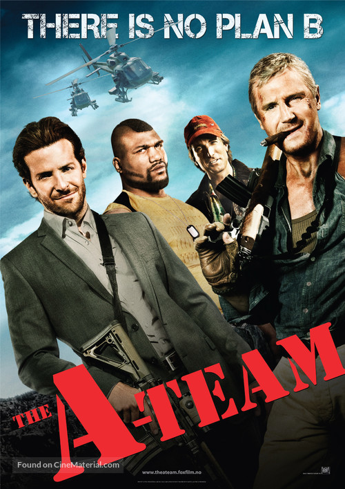 The A-Team - British Movie Poster