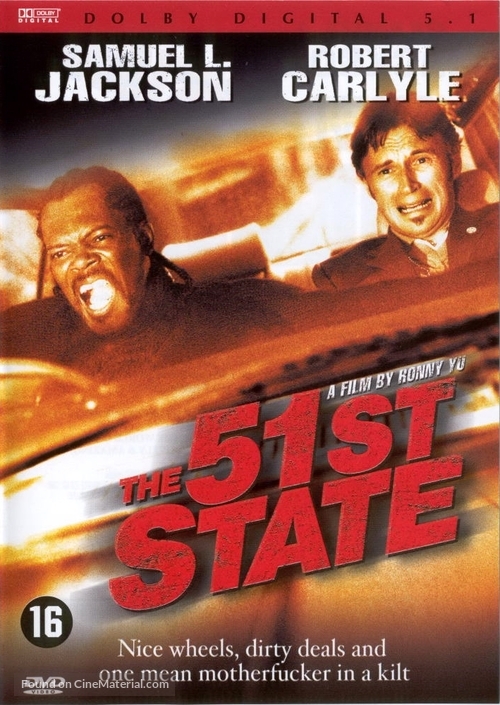 The 51st State - Dutch DVD cover
