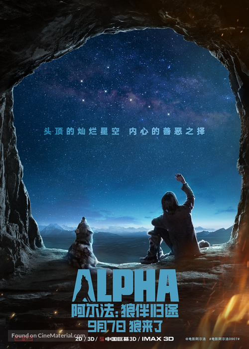 Alpha - Chinese Movie Poster
