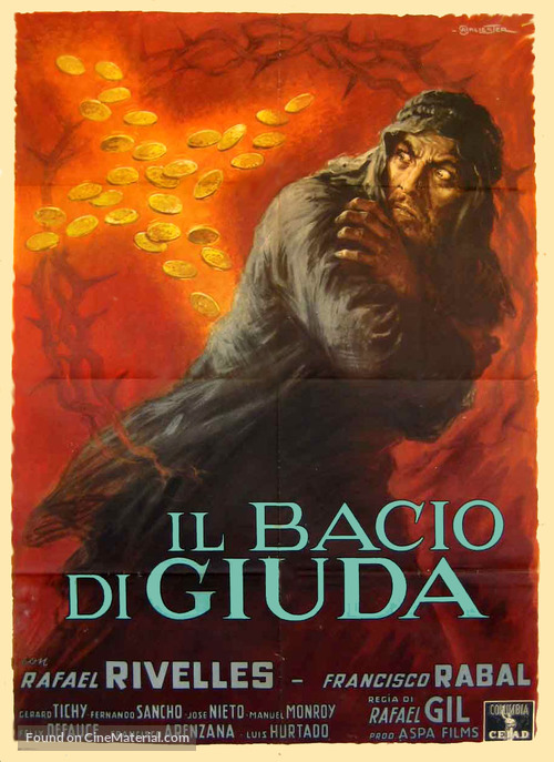 Beso de Judas, El - Italian Movie Poster