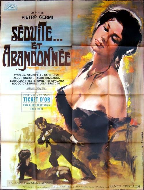 Sedotta e abbandonata - French Movie Poster