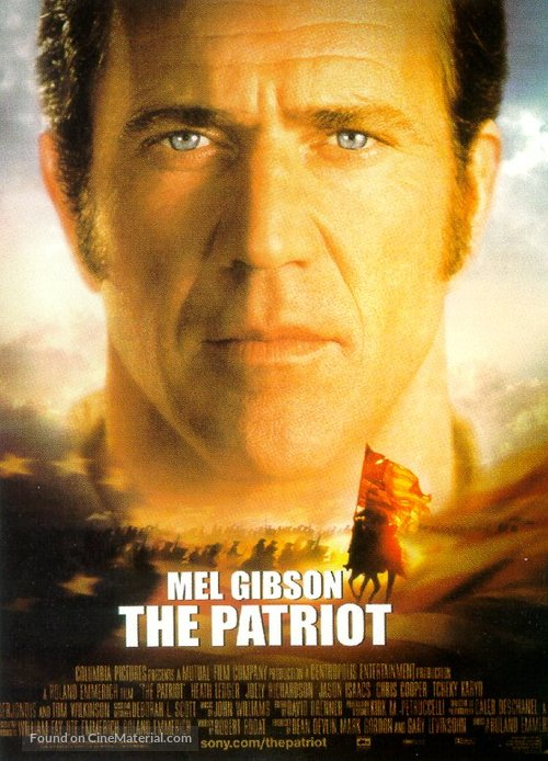 The Patriot - Theatrical movie poster