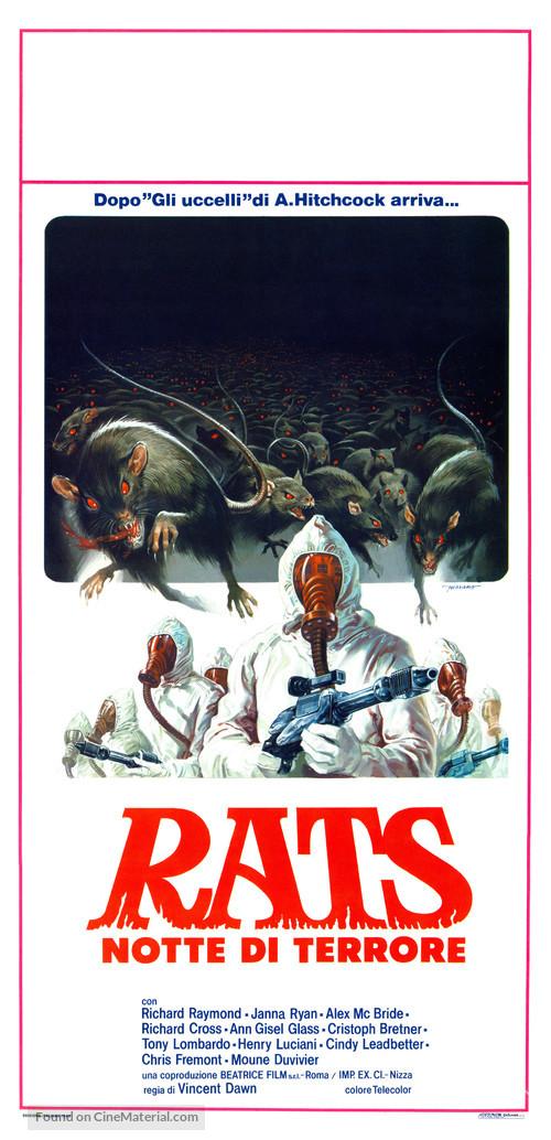 Rats - Notte di terrore - Italian Movie Poster
