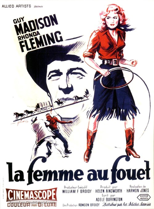 Bullwhip - French Movie Poster