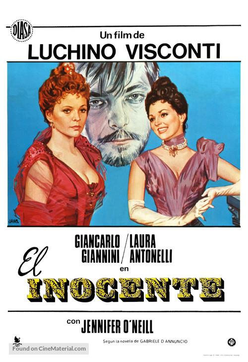 L'innocente - Spanish Movie Poster