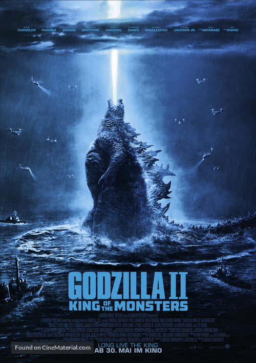 Godzilla: King of the Monsters - German Movie Poster