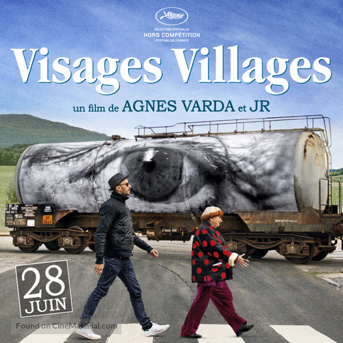 Visages, villages - French Movie Poster