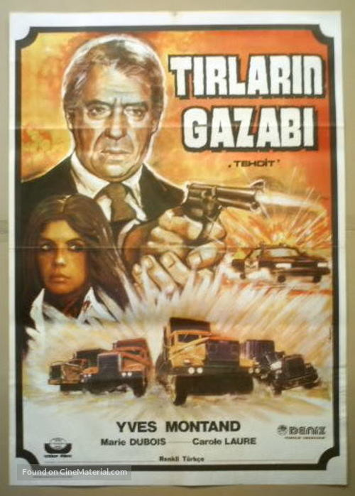 La menace - Turkish Movie Poster