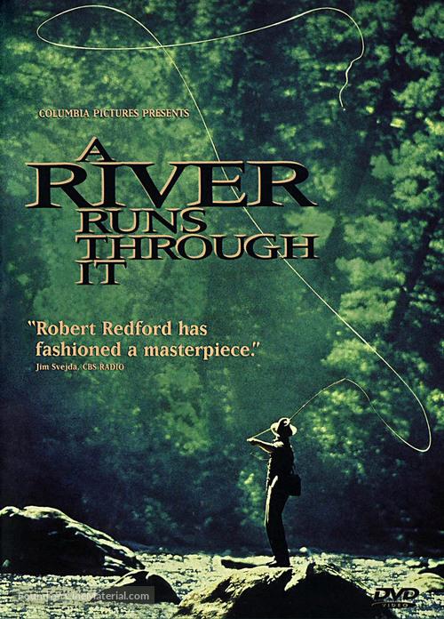 A River Runs Through It - DVD cover