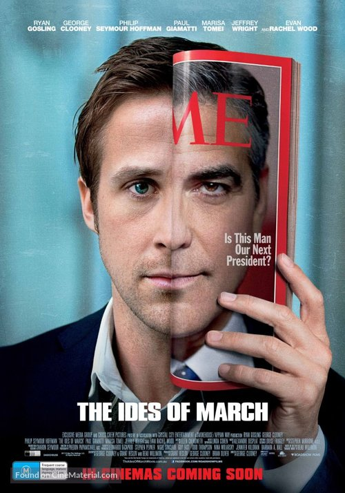The Ides of March - Australian Movie Poster