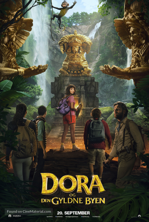 Dora and the Lost City of Gold - Norwegian Movie Poster