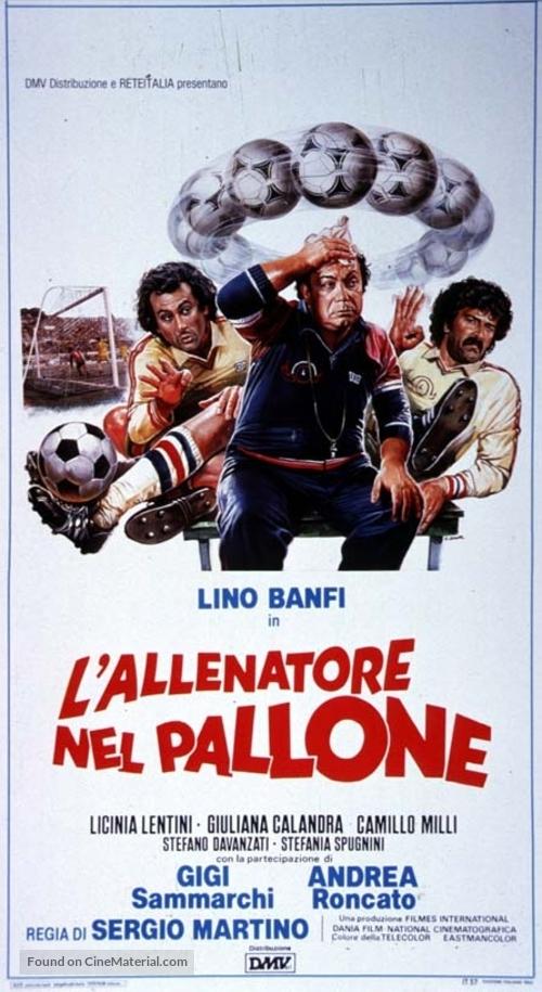 Allenatore nel pallone, L' - Italian Movie Poster