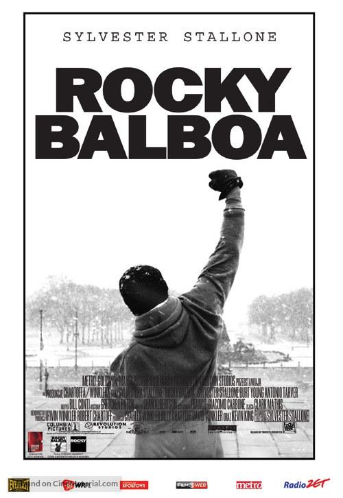 Rocky Balboa - Polish Movie Poster