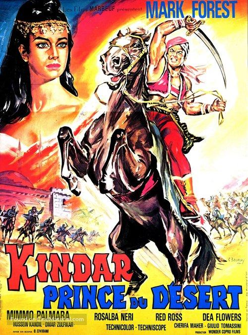 Kindar l'invulnerabile - French Movie Poster