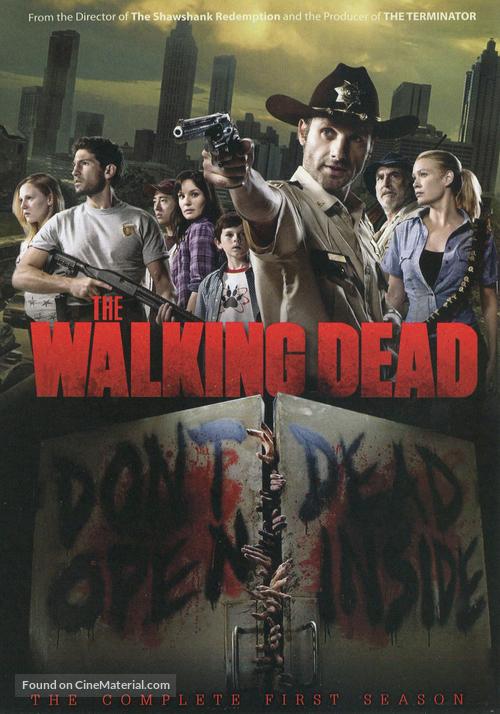 """""""The Walking Dead"""" - Thai DVD movie cover"""