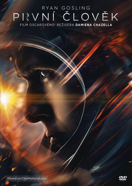 First Man - Czech DVD cover