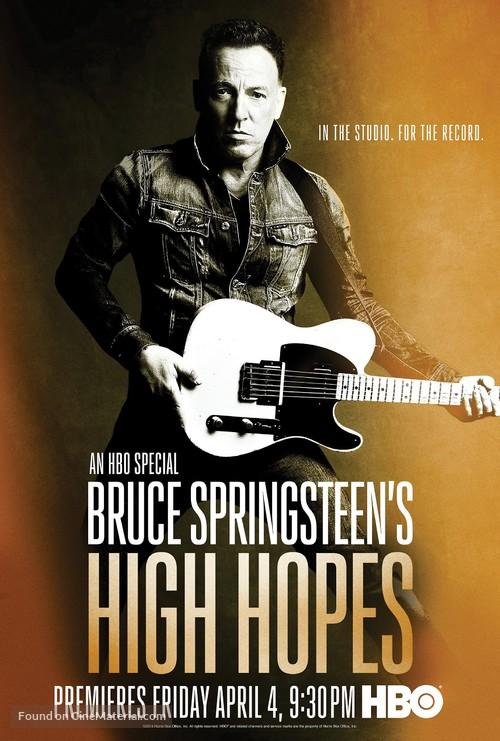 Bruce Springsteen's High Hopes - Movie Poster