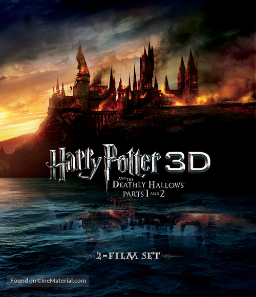 Harry Potter and the Deathly Hallows: Part I - Blu-Ray movie cover